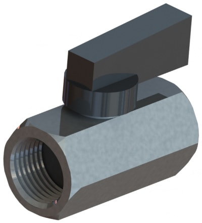 BBV series brass mini ball valves from ISM.