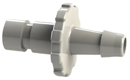 B P M 5 series blood pressure limb cuff bayonet connector by hose barb plastic fitting. 8Caption: Figure 6 BPM5 series fitting