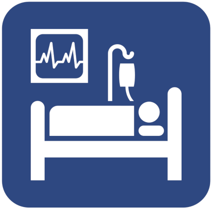 S E G D developed universal symbol for intensive care.