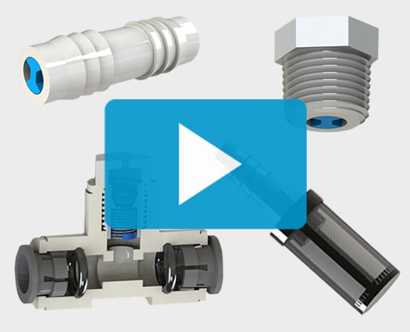 A video thumbnail for a short video about the J C V, N R V T, N R V, C V N U C B and I S F S V series customized fitting designs that have been expanded into new product series. Click here to watch the video.