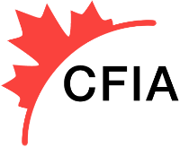 The Canadian Food Inspection Agency logo.