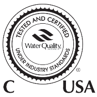 Water Quality Association (WQA) NSF certified seal