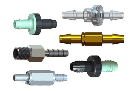 A sample selection of the types of check valves carried by ISM.