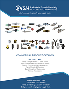 ISM Commercial Products catalog front cover