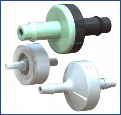 Check Valve Types >> Plastic Diaphragm Check Valves Ism Ism