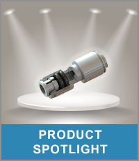 I S M fitting under spotlights representing the product spotlights.