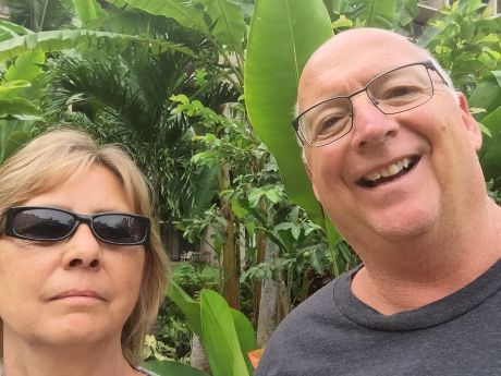 Mike and his wife Debbie in Maui, Hawaii