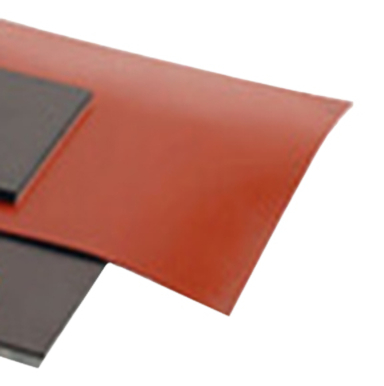 United Silicone Ultrasil (red) unbonded silicone rubber sheet stock.