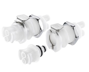 42AC Series - Acetal Dual Tube Quick Couplings