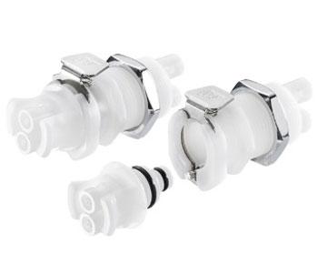 42AC Series - Acetal Dual Tube Quick Couplings