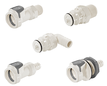 60PS Series - Medical Polysulfone Quick Couplings