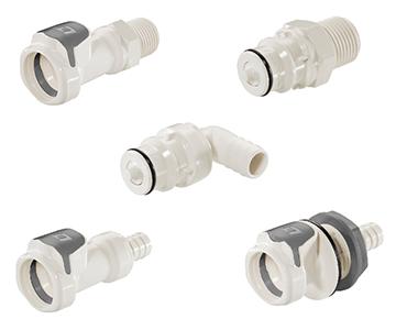 60PS Series - Medical Polysulfone Quick Couplings