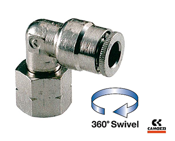 6523 Series - Female Swivel Elbow