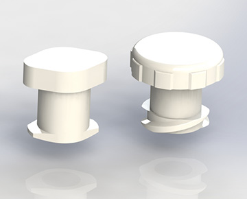 CFLLPA Series - Economical Female Luer Plugs