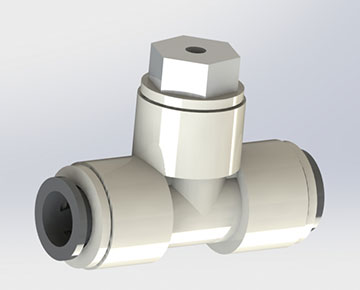 NRVT Series - In-line Relief Valve