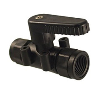 PMBV2 Series - 2-Way Ball Valves - Panel Mount