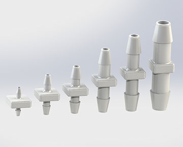 VCAPM Series - Straight Tube Connectors