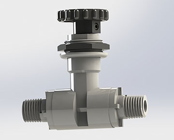 VNPS Series - Plastic Needle Valve