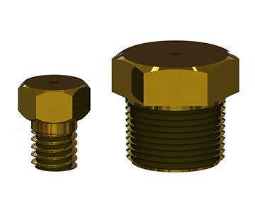 AO Series - Threaded Plug Orifice