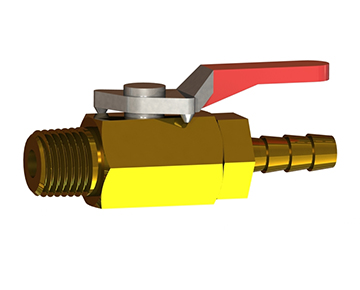 BBVC Series - 2-Way Brass Ball Valve