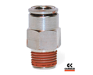 C6510 Series - Male NPT Connector with Coated Threads