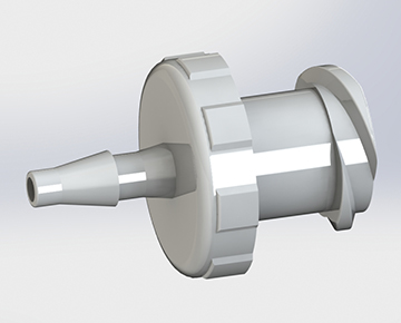 Luer to Barb - Plastic Luer Fittings