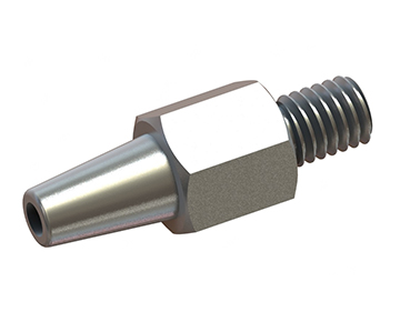Luer x Thread - Metal Luer Fittings