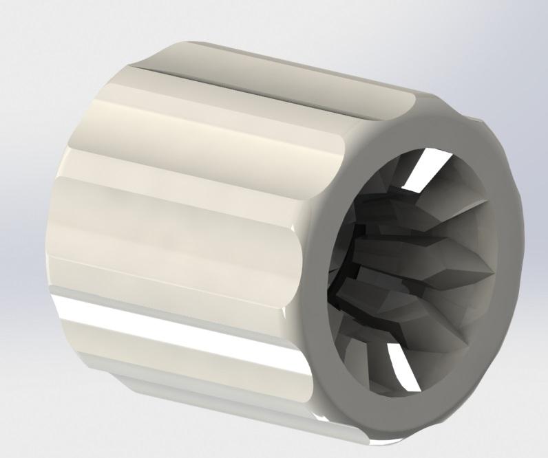 CLFSR Series - Finger Snap Luer Lock Ring