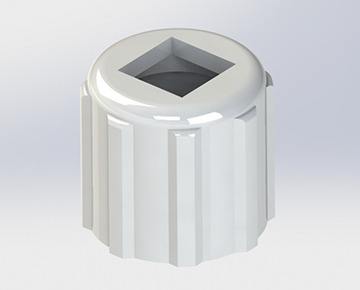 CLMRA Series - Economical Male Luer Lock Ring