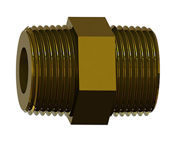COF Series - Nipple Check Valve - Piston