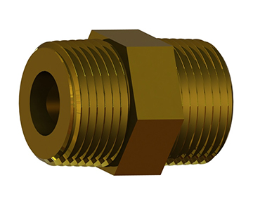 COFP Series - Nipple Check Valve - Poppet
