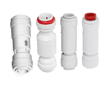 Plastic Push-In Check Valves