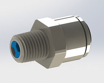 CVQCS Series - Push x Thread Check Valve