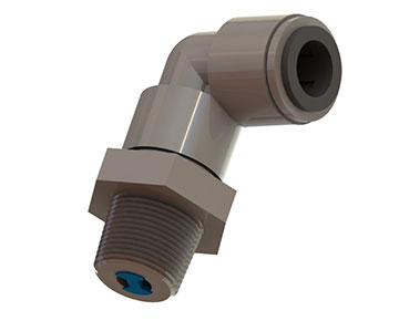 CVQCSE Series - Swivel Elbow Check Valve