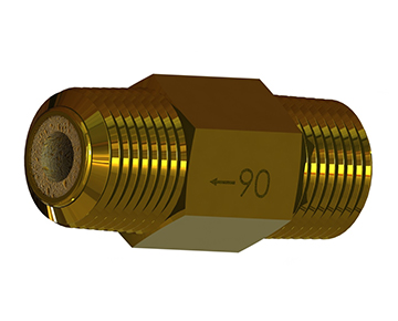 FHN Series - Nipple Filters - Sintered Bronze