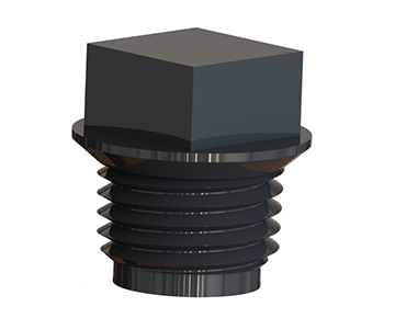 Cap & Plug Plastic Threaded
