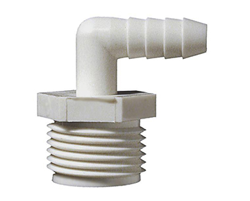 GHME Series - Male Garden Hose x Hose Barb Elbow