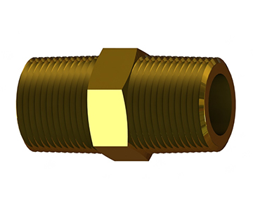 HN Series - Hex Nipple - UNF/NPT Threads