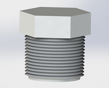 HPL Series - Threaded Plug