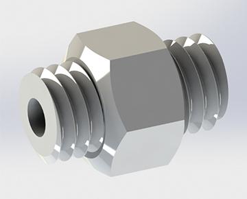 HPNV Series - Mini Hex Nipple