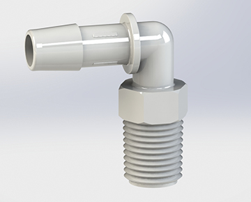 MEBJ Series - BSPT Threaded Elbow Connectors
