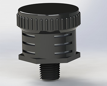 MJ Series - Serviceable Muffler - Standard Design