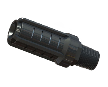 MJJ Series - Serviceable Muffler - Slim Design