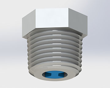 NRV Series - Nylon Relief Valve
