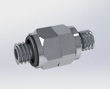 NSX Series - 10-32 UNF Swivel Connector