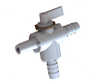 PBV3 Series - 3-Way Ball Valve - Panel Mount