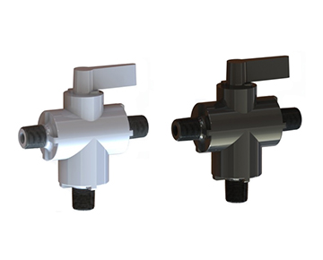 PBV3 Series - 3-Way Ball Valve