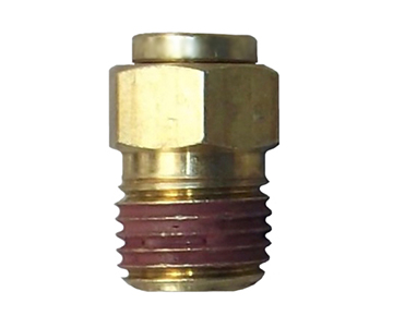 QCS Series - Brass Push-In