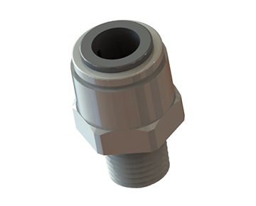 QCS Series - Male NPT x Push-In