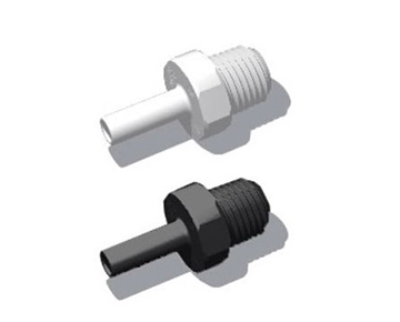 QCSAG Series - Male NPT x Stem - Polypropylene